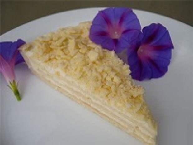 торт нежный на сковороде