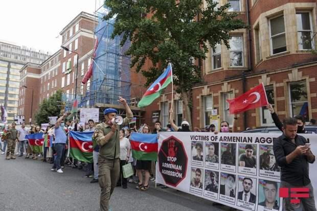 Армяно-азербайджанская баталия при Лондоне