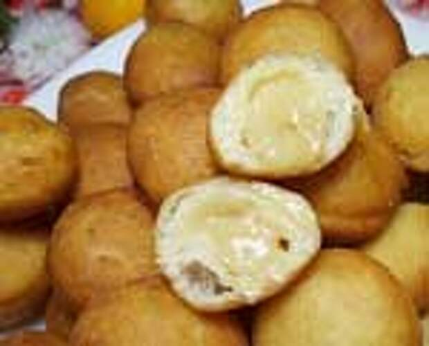 Самые вкусные пончики со сгущенкой