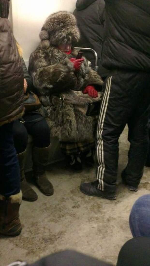 Модные люди из подземелья