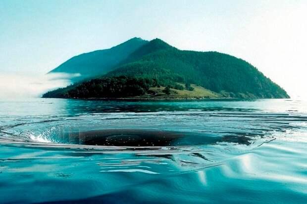 Чертова воронка на Байкале