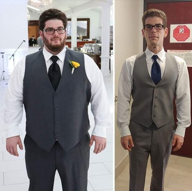 Размер одежды изменился с 3XL до S в мире, внешность, диета, история, люди, спорт, фигура