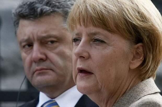 Клоун Порошенко начинает раздражать Берлин