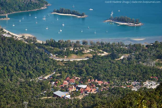 Прогулка по Небесному мосту на острове Лангкави