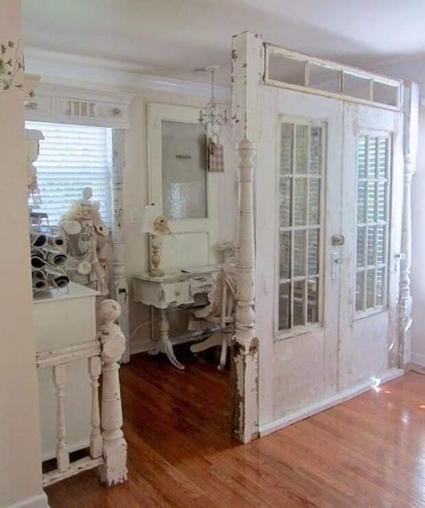 Мебель из дверей