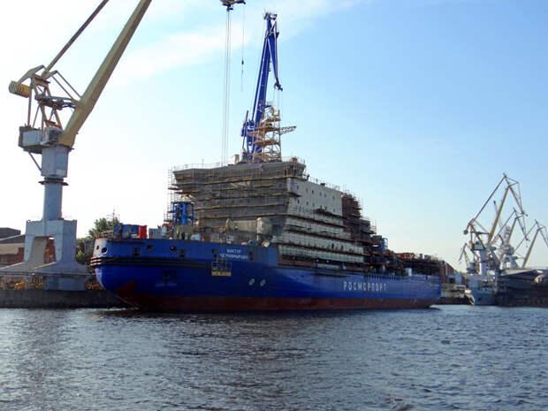 Ледокол «Виктор Черномырдин» пойдёт на ледовые испытания в 2020 году