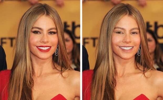 Как выглядели бы 15 известных женщин без макияжа