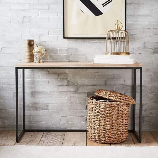 Стильные дизайны консольного столика