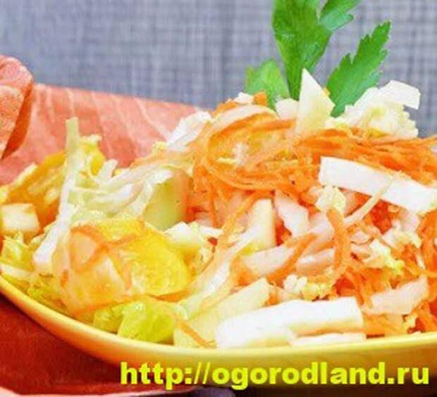 Салаты с мандаринами. 6 рецептов оригинальных салатов
