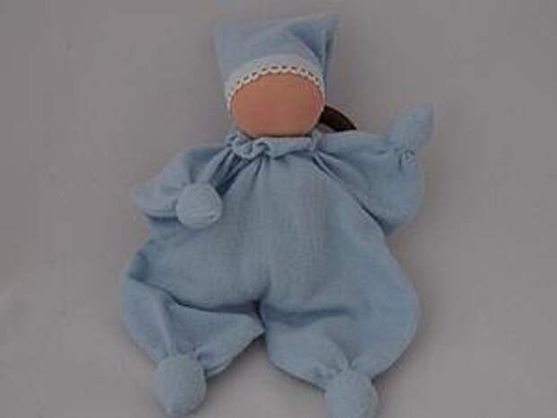 Шьем вальдорфскую куклу-бабочку для младенцев | Ярмарка Мастеров - ручная работа, handmade