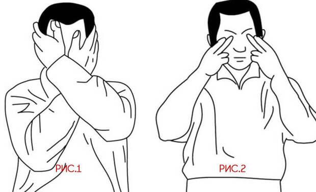 Надавливание на глаза: техника лечения при глаукоме, катаракте и близорукости