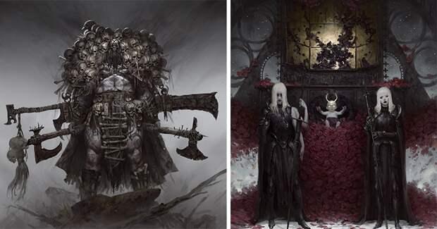 Художник Богдан Резуненко и его завораживающая «темная сторона»