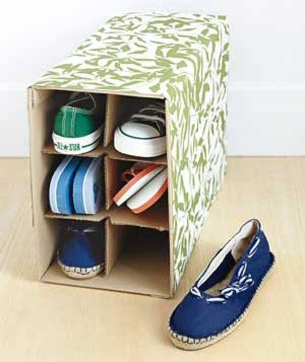 wine-box-into-shoe-rack