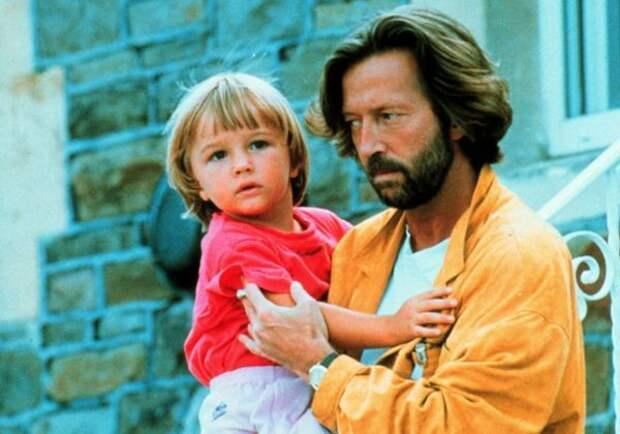 эрик клэптон с сыном конором