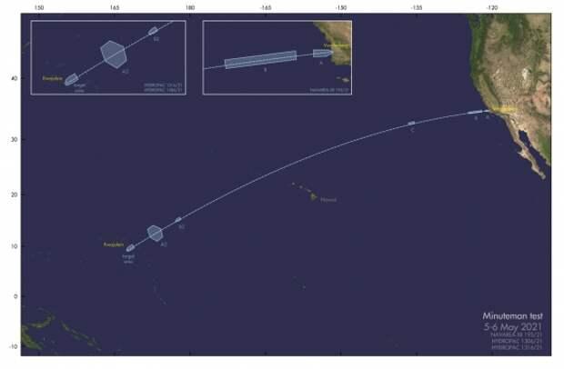 США проведут испытания ракеты-носителя ядерных боеголовок