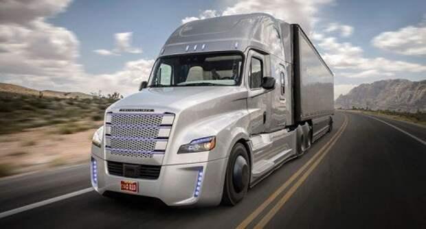 Беспилотный грузовик Freighliner Inspiration