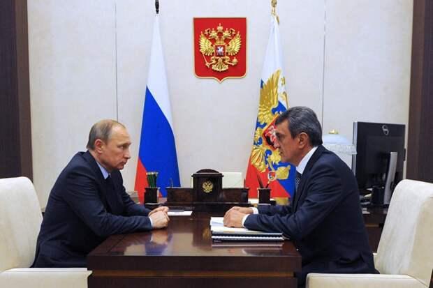 Меняйло и Путин поговорят по душам