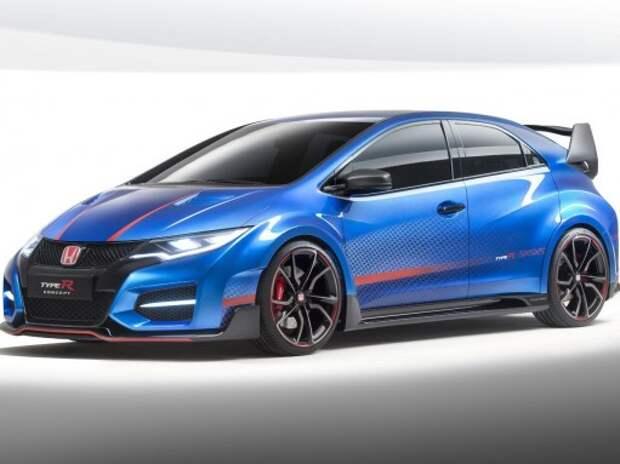 Новая Honda Civic Type-R посетит Парижский салон