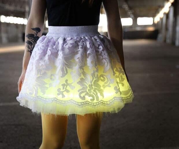 Юбка с подсветкой (Diy)