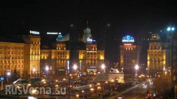 В центре Киева прогремела серия мощных взрывов