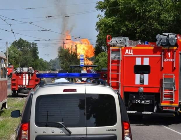 Донецк по счастливой случайности избежал масштабных жертв и разрушений