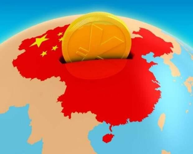 На самом деле Китай - не мировая держава, а мировой кошелек, куда мировые державы вкладывают свои капиталы. Но только до поры до времени