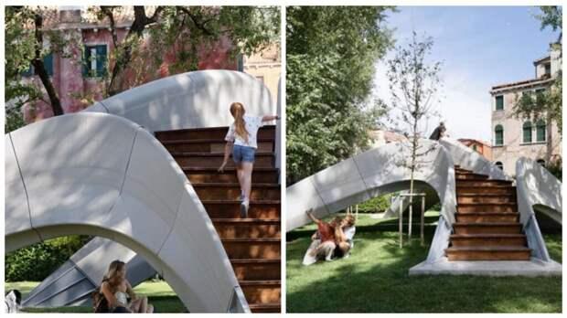 В Венеции впервые создали мост на 3D-принтере