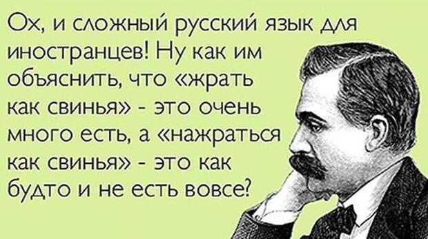 12 чудесных тонкостей русского языка