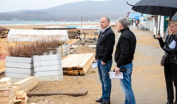 Напляжах Шаморы клету построят деревянные открытые террасы
