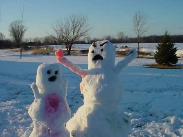Снегоканибализм