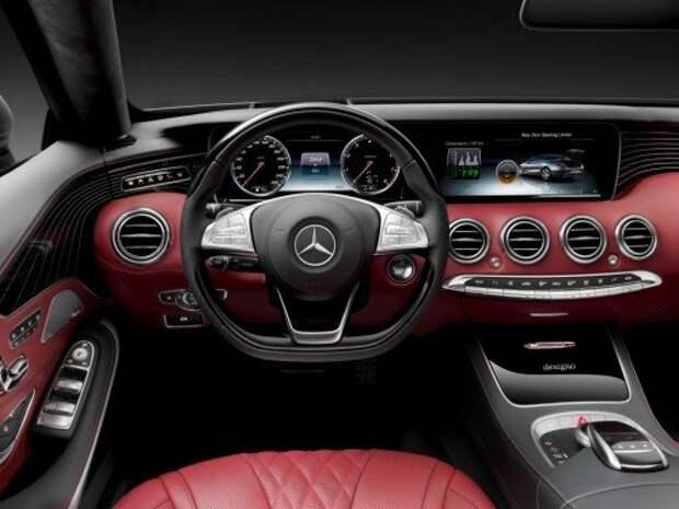 Mercedes-Benz представил кабриолет S-класса