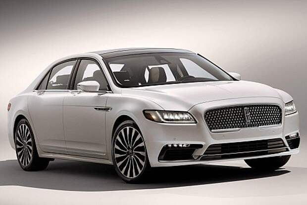 Lincoln Continental смахнул пыль веков (ФОТО)
