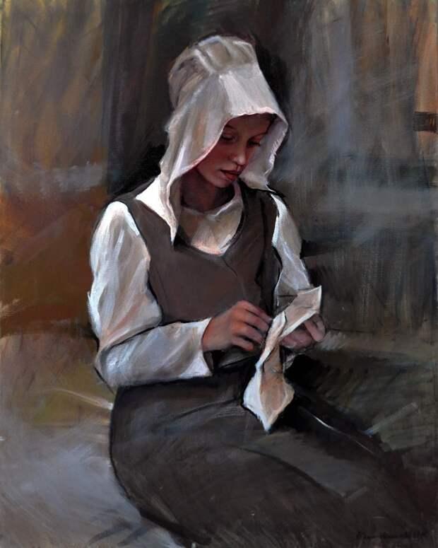 Чувственные женские портреты от Эмилии Вилк