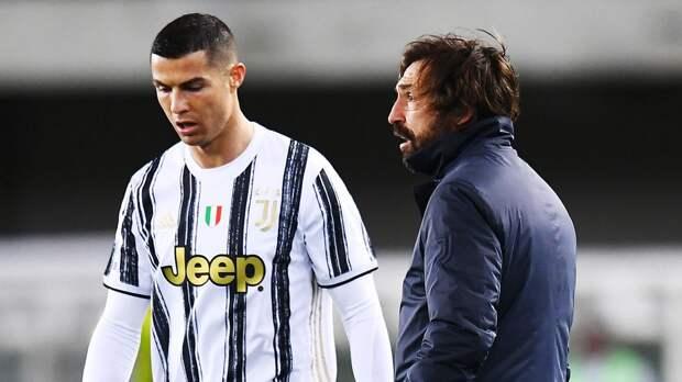 Итальянские СМИ: «Ювентус» уволит Пирло в случае поражения от «Наполи»