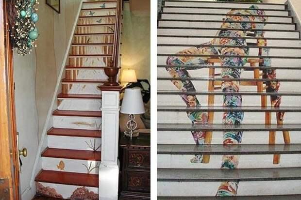 Живописные лестницы ТРАФИК