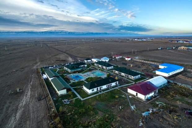 Казахстан с высоты птичьего полета