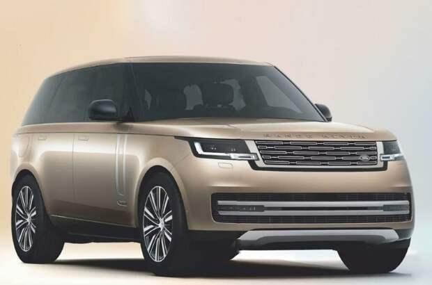Новый Range Rover рассекретили раньше премьеры