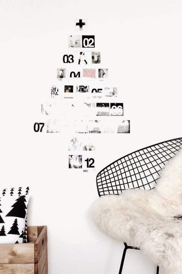 Ёлка-календарь