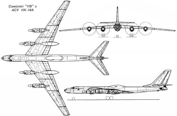 Советские проекты атомолетов