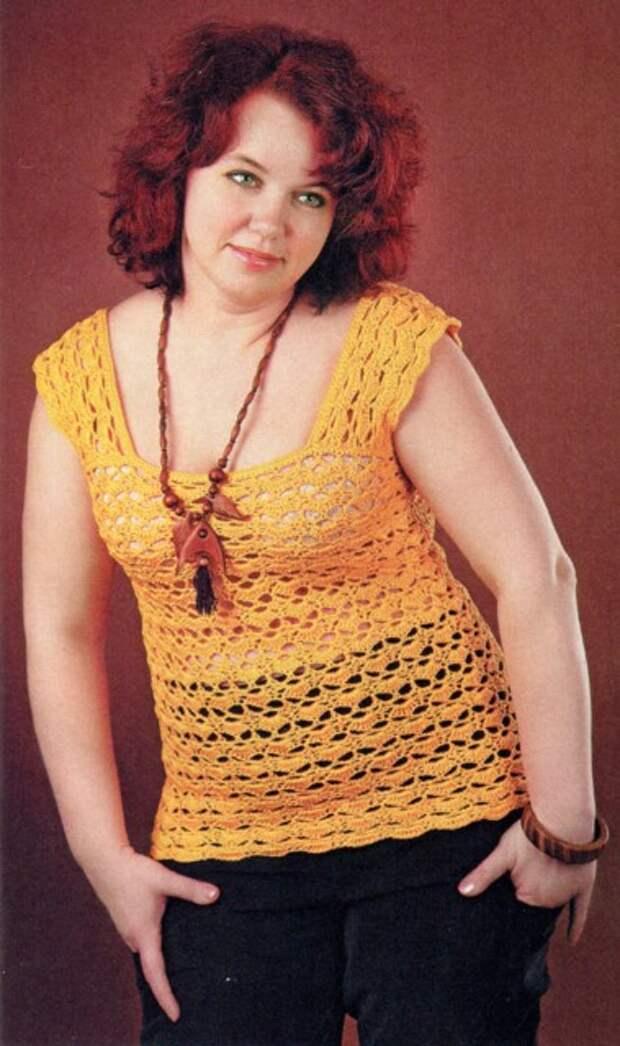 Подборка вязаных моделей для роскошных дам