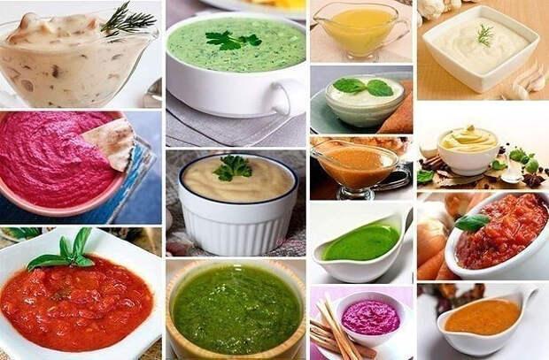 22 рецепта соусов для заправки салата