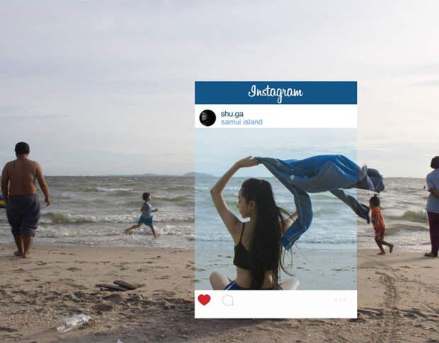 Правда, лежащая за рамками фотографий в Инстаграме
