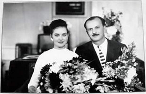 Юлия Пашковская и Юрий Тимошенко, 1961 год (https://fakty.ua)