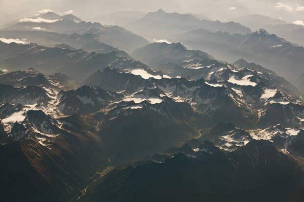 Пейзажные аэрофотографии, запечатлевшие красоту во всех уголках планеты