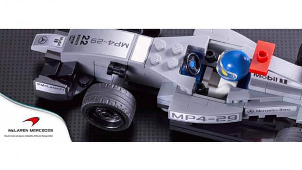 Лего Макларен Мерседес Формула 1 / Mclaren Mercedes F1