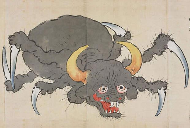 6. Рептилии и насекомые суеверия, япония