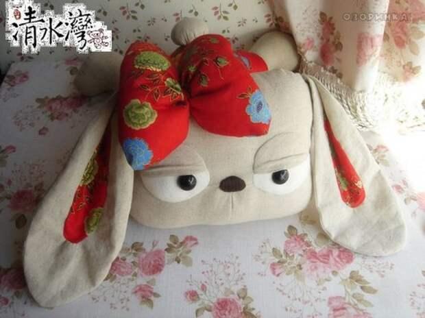 подушка собачка готова
