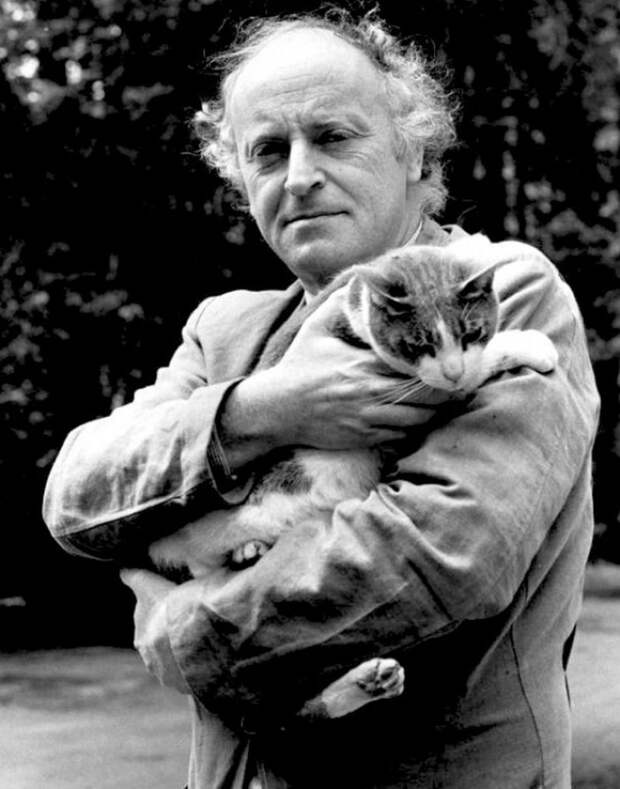Потрясающие редкие фотографии известных писателей и поэтов