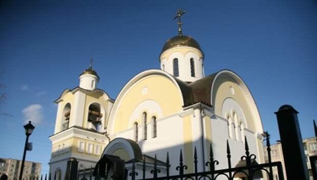 В Подмосковье проверили территорию вокруг храмов накануне Рождества