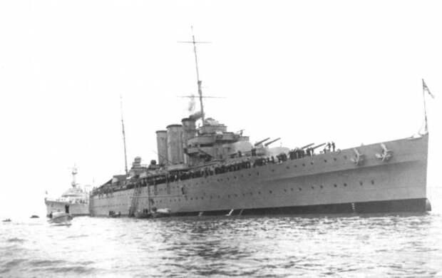 Боевые корабли. Крейсера. Как денди лондонский…